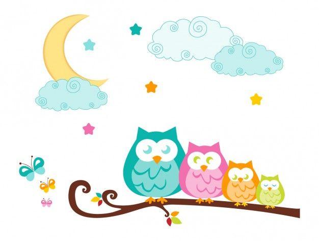 corujas no nite claire leigh baker pinterest owl scrapbook rh pinterest com Family Clip Art Owl Love Owl Family Clip Art Black and White