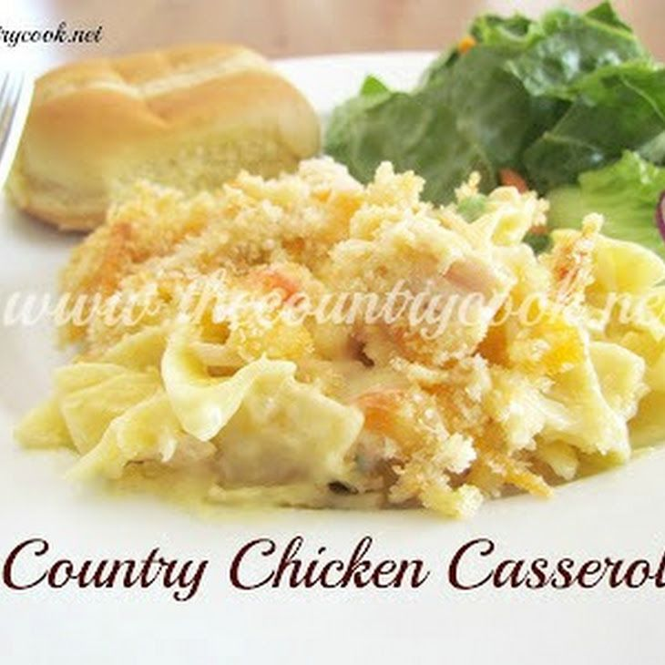 Country Chicken Noodle Casserole  Recipe In 2019 -6187