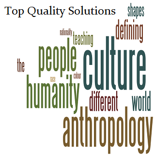 Help writing anthropology thesis