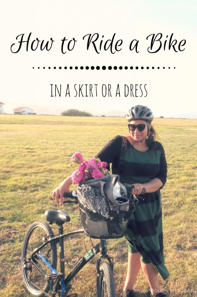 How To Ride A Bike In A Skirt Or A Dress Bike Ride Urban Bike