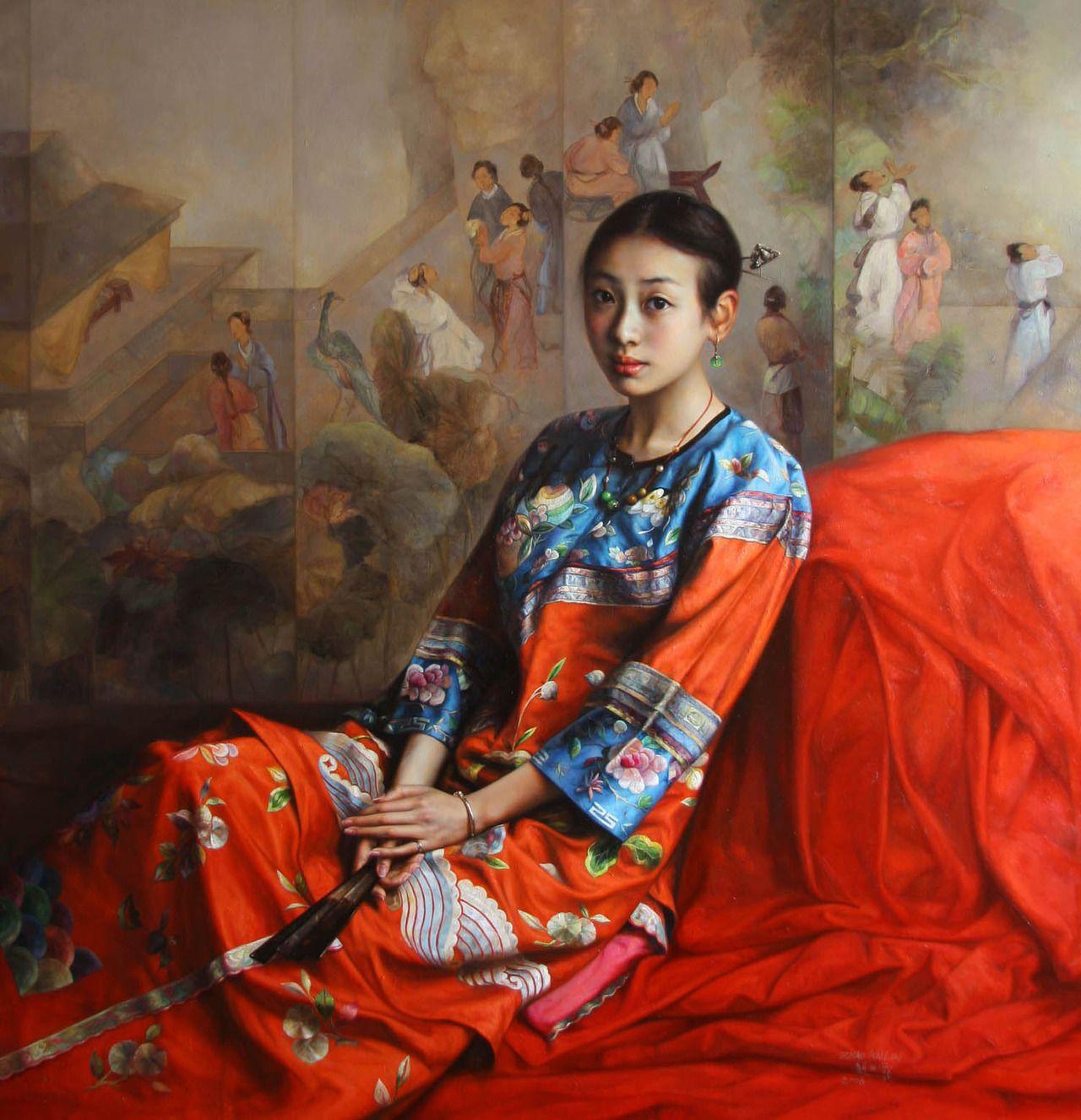 Zhao Kailin Est Un Artiste Peintre Contemporain D Origine Chinoise