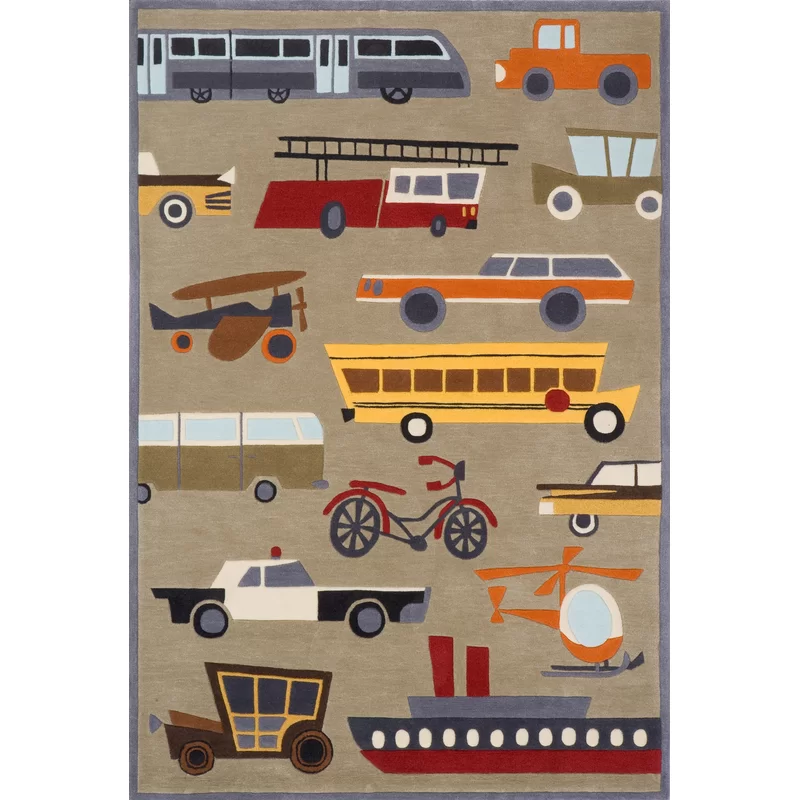 Bailey Hand Tufted Brown Kids Rug With Images Kids Area Rugs Hand Tufted Rugs Kids Rugs
