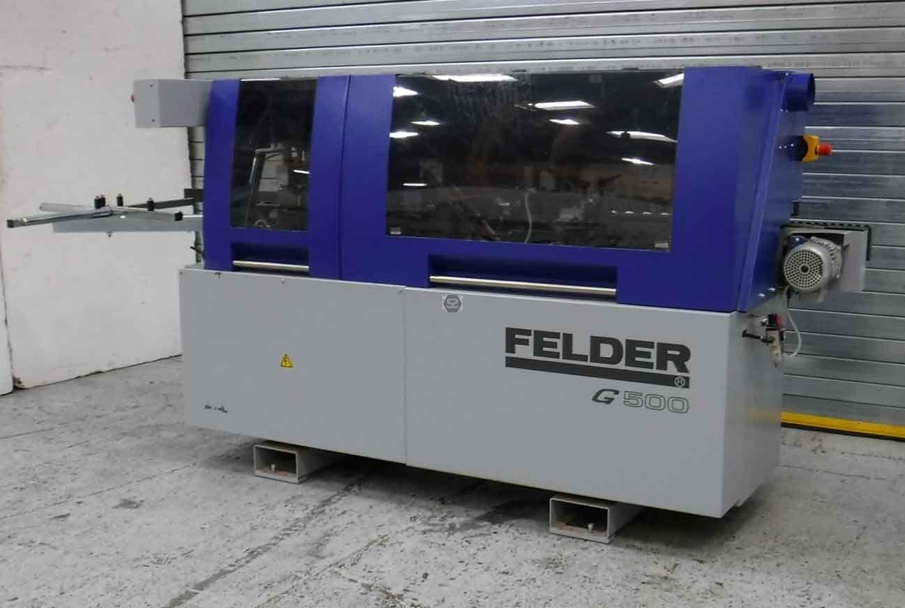 Used Felder G500 Edgebander 2015 | Edgebander & Edgebanding