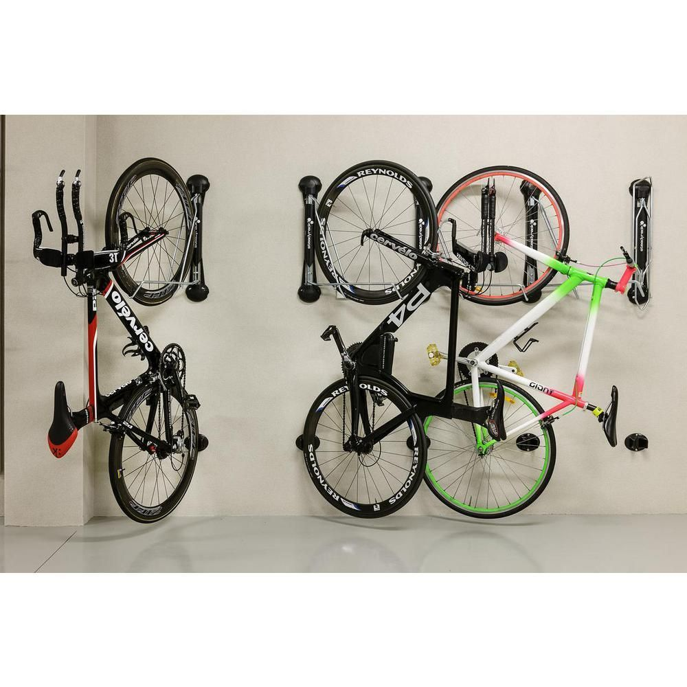 Steadyrack Classic Swivel 1 Bike Vertical Bike Rack B Scsr02 004 The Home Depot Bike Storage Systems Bike Storage Rack Vertical Bike