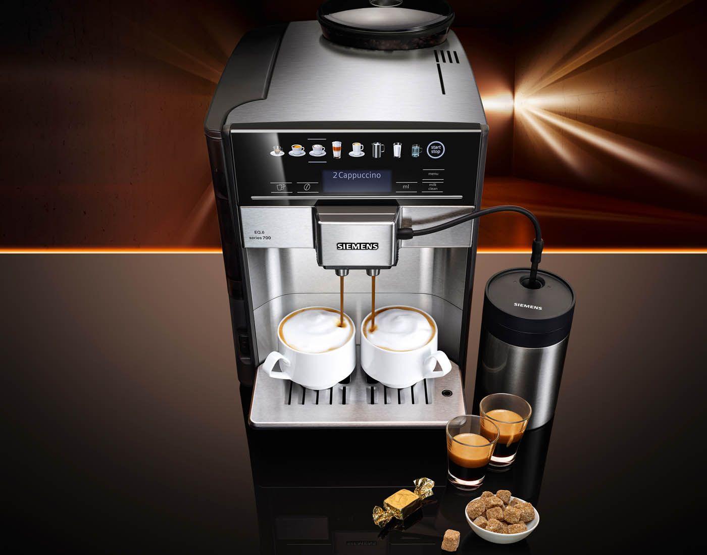 koffievolautomaat eq 6 van siemens koffie keuken gadgets en asseccoires gespot door. Black Bedroom Furniture Sets. Home Design Ideas