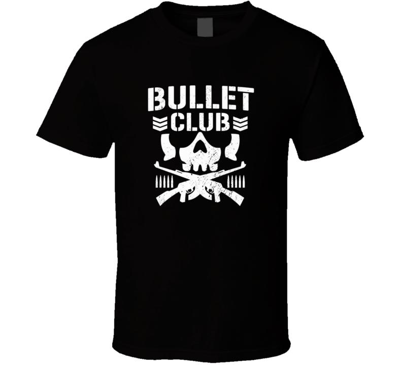 Bullet Club New Japan Pro Wrestling T Shirt Japan Pro Wrestling Wrestling Shirts T Shirt