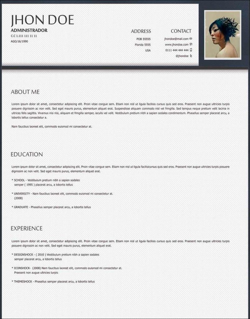The perfect Curriculum Vitae Writing a cv, Best resume