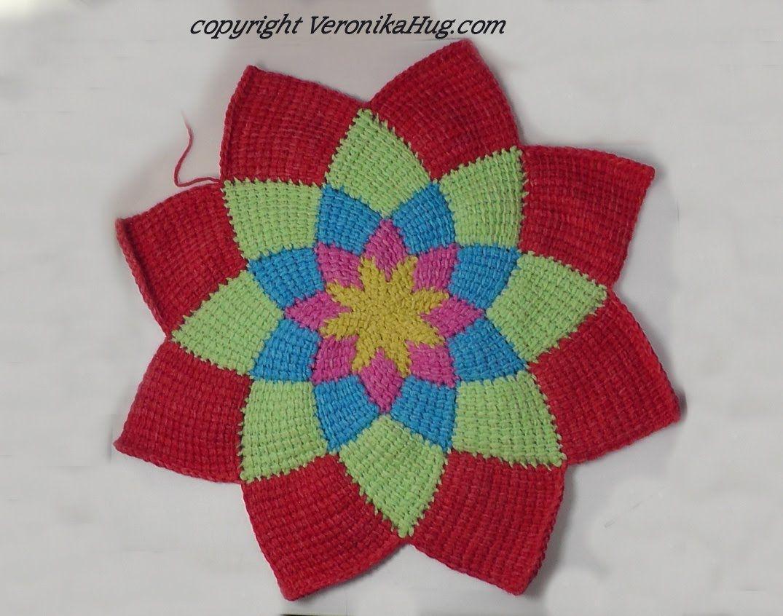 Kreisjacke Feuerrad Aus Woolly Hugs Bandysheep 5 Teil Tutorial