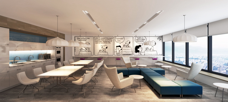 Metlife Office Pantry 3d Model Max 1 Interior Scenes Pinterest