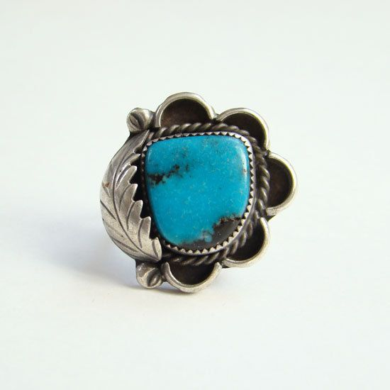 Native American Womens Navajo White Opal Sterling Silver Ring Size 7.5 Beautiful
