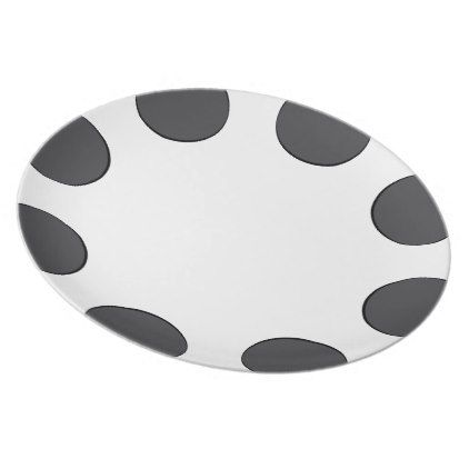 Checkered DarkGrey Dots Dinner Plate - kitchen gifts diy ideas decor special unique inidual customized  sc 1 st  Pinterest & Checkered DarkGrey Dots Dinner Plate - kitchen gifts diy ideas decor ...