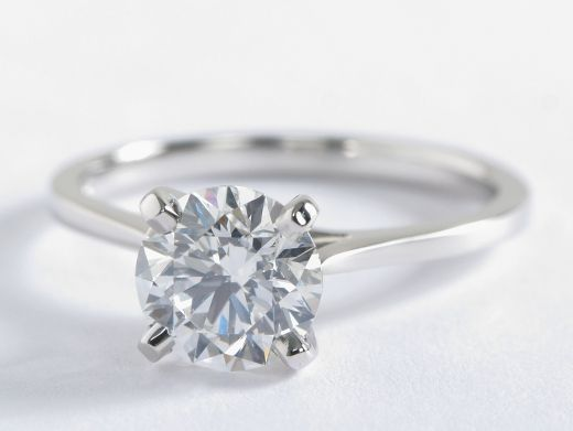 A 10 000 Engagement Ring Budget Solitaire Engagement Ring Cathedral Budget Engagement Rings 10000 Engagement Ring