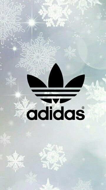 Adidas Tumblr Wallpaper with Snowflakes!