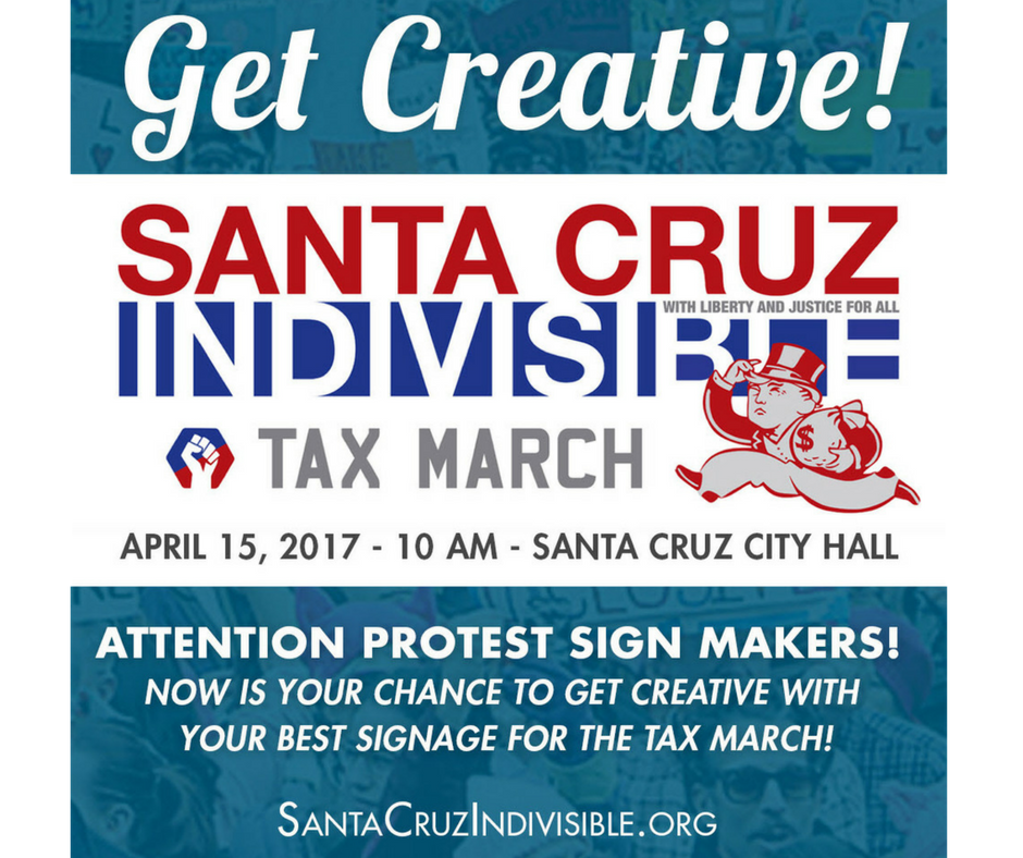 Call For Signs For The Tax March Protest Signs Sign Maker Liberty And Justice For All