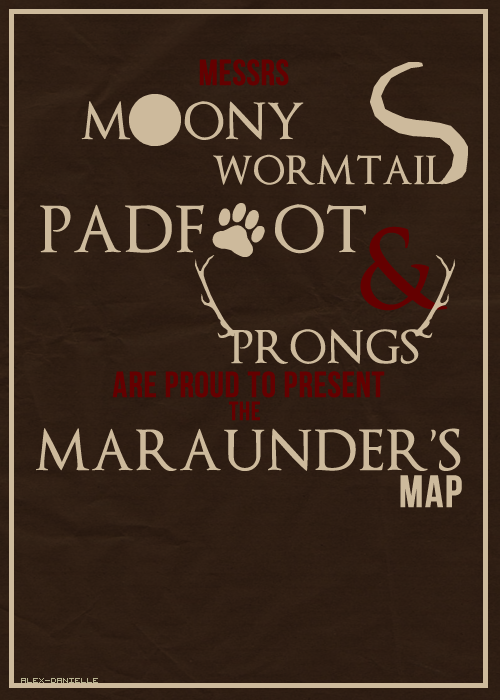 moony wormtail padfoot and prongs - 500×700