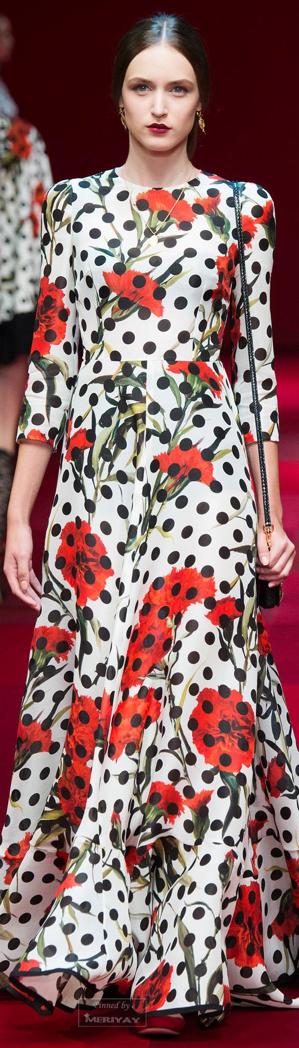 Dolce & Gabbana.Spring 2015.