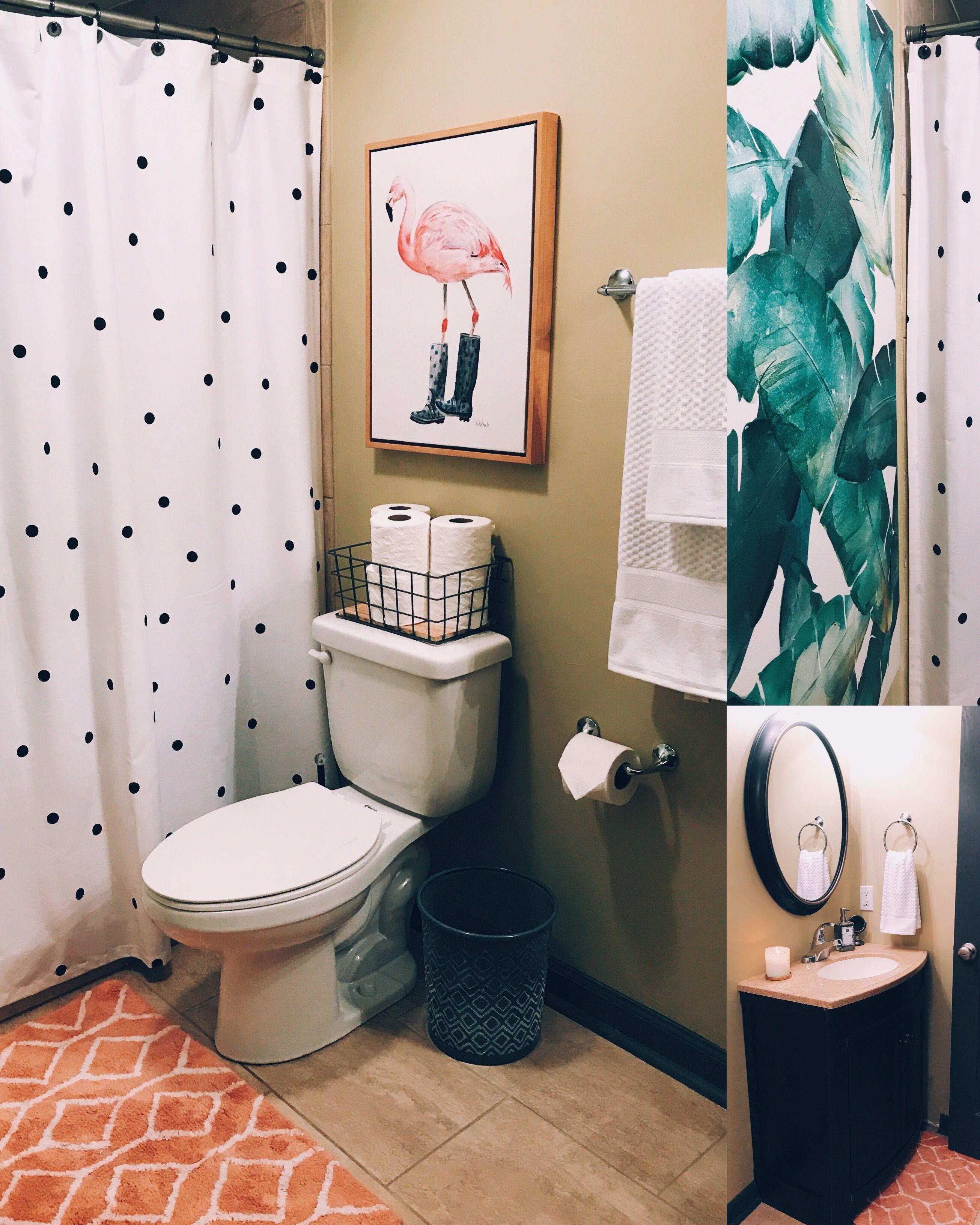 Tropical Kate Spade Bathroom Bathroom Decor Apartment Girls Bathroom Design Tropical Bathroom