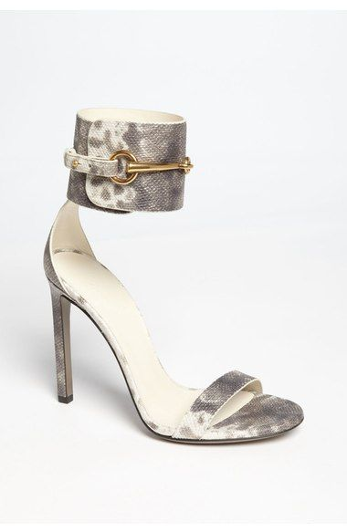 c54849221ee Gucci Ursula Sandal in Grey White Gold- Gorgeous!