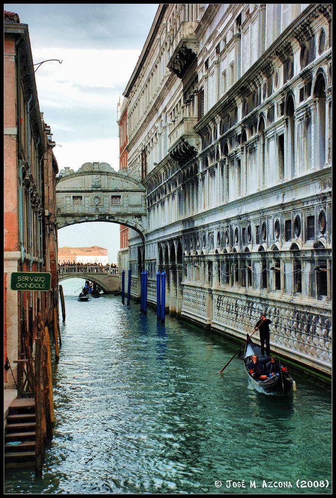 Venecia Italia Puente De Los Suspiros Venice Italy Places To Go Vacation