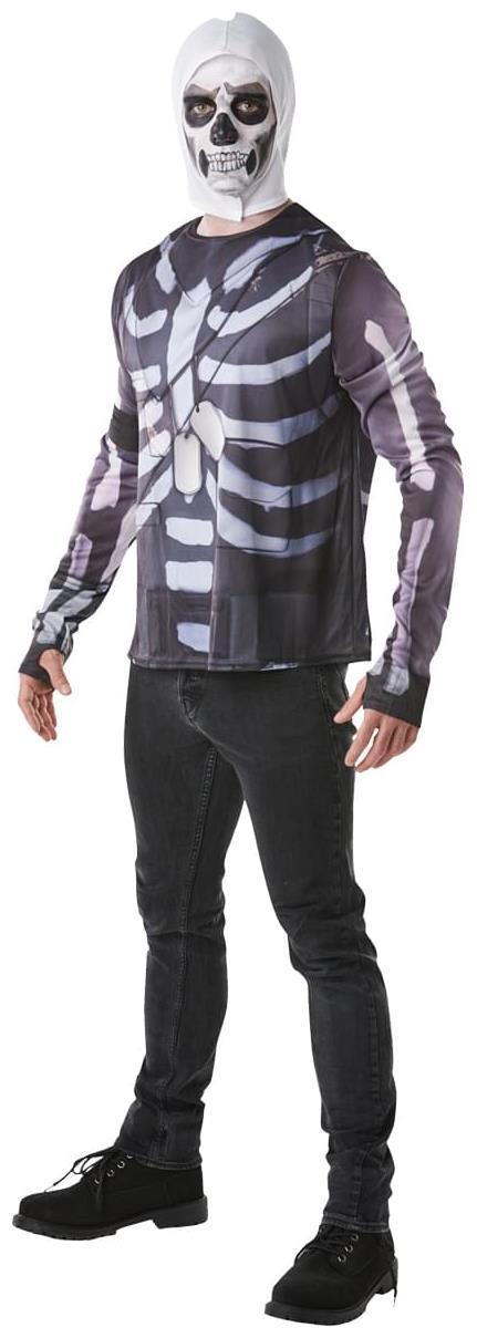 Fortnite Skull Trooper Kostum Fur Kinder Faschingskostum Schwarz Weiss Gunstige Faschings Kostume Bei Karneval Megastore Kinder Kostum Fasching Halloween Kinderkostume