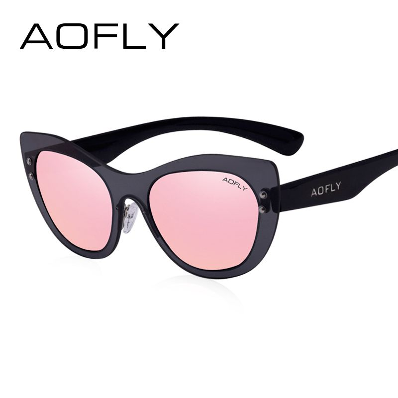 0680ae99cf AOFLY Fashion Cat Eye Women Sunglasses Original Brand New Design Lenses  Frames Sun Glasses Female Vintage Eyewears UV400 AF6022