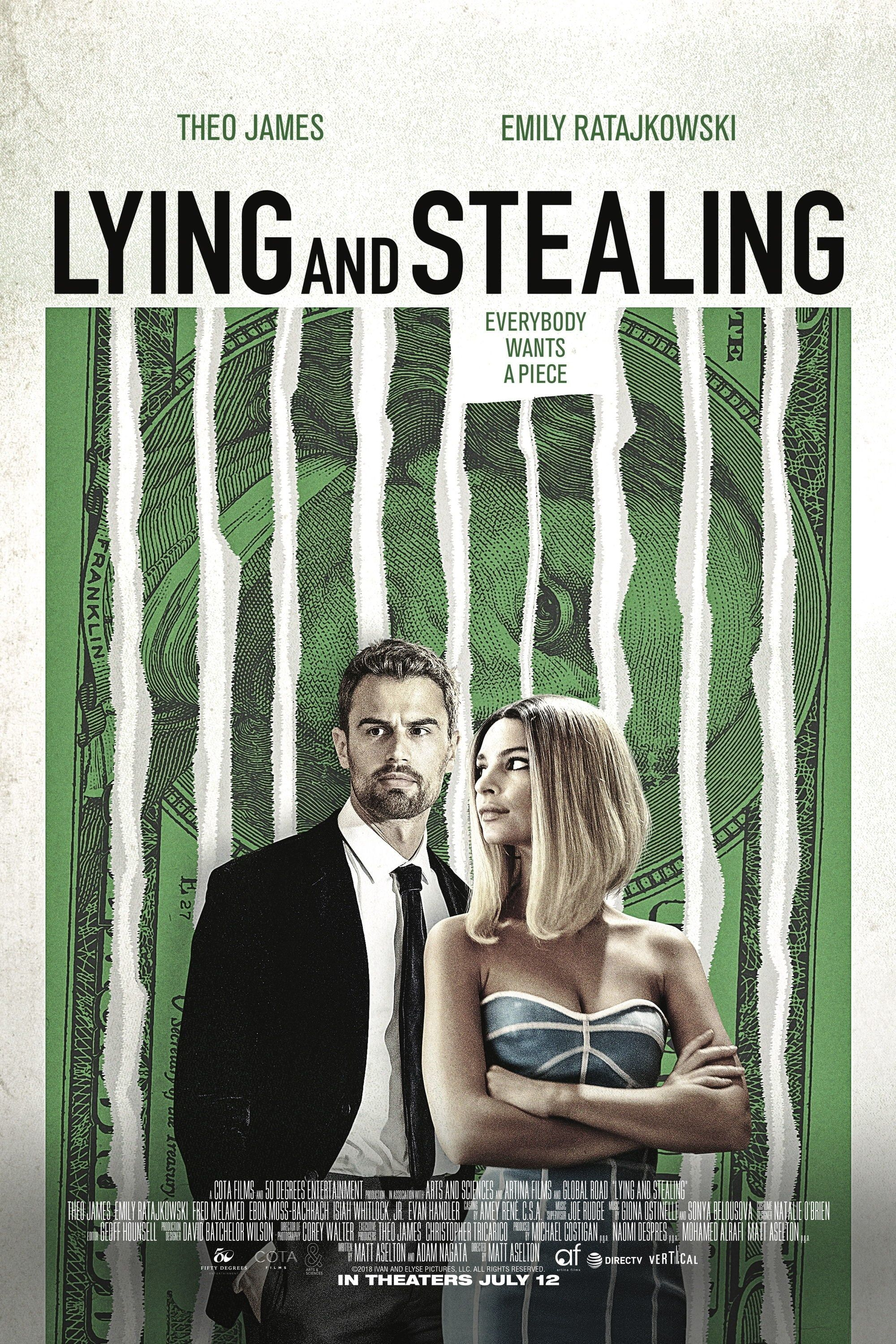 Eng Sub Lying And Stealing Full Movie Maxhd Online 2019 Free Download 720p 1080p Movie Posters Theo James Free Movies