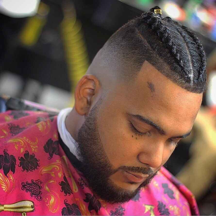 Best 14 Braids Hairstyles Haircuts For Men S 2018