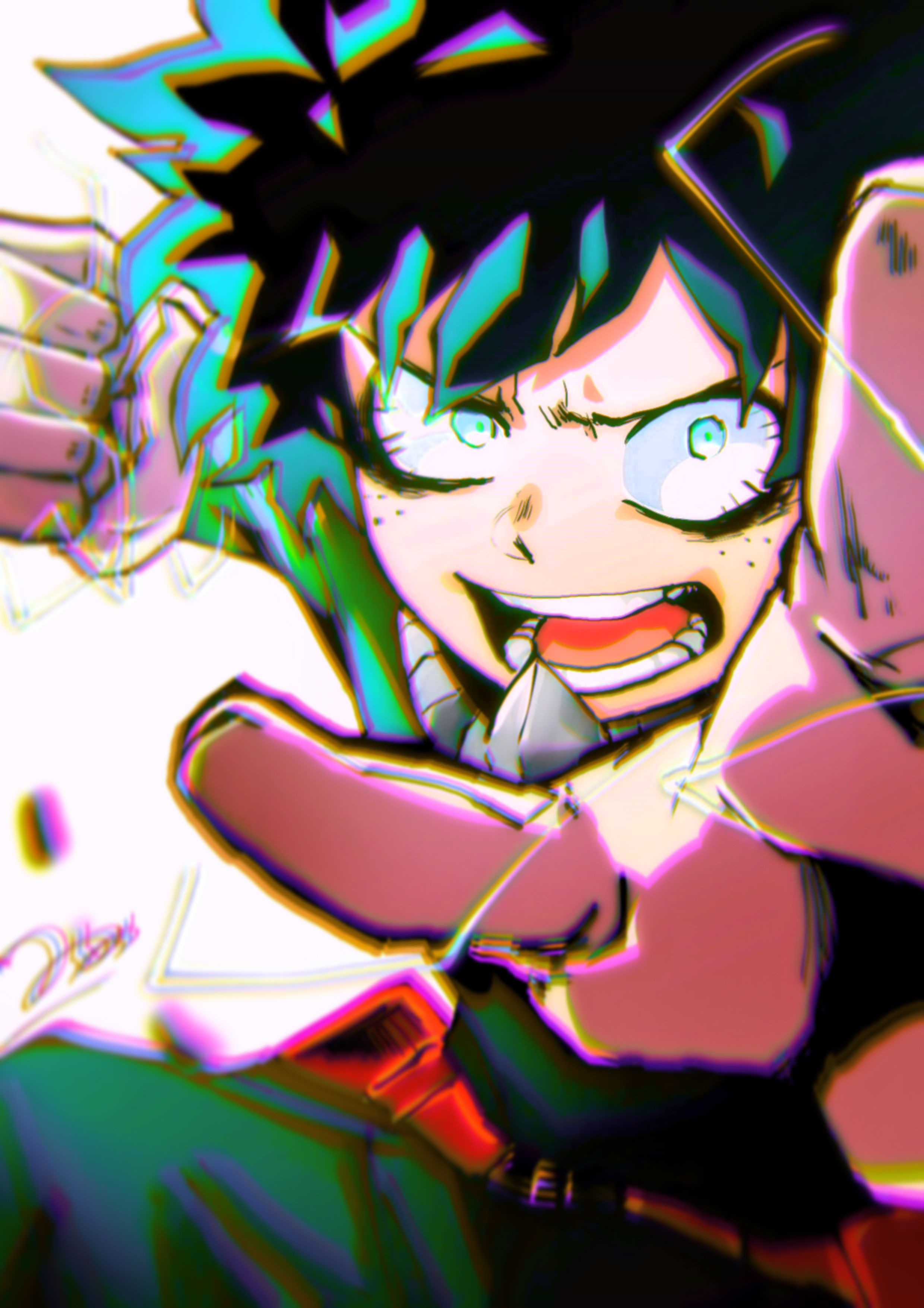Boku no Hero academia Manga Wallscroll Poster Kunstdrucke Bider Drucke