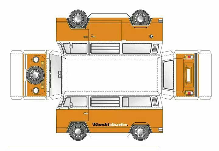 vw bus vw bus board pinterest bastelvorlagen karton und kombis. Black Bedroom Furniture Sets. Home Design Ideas
