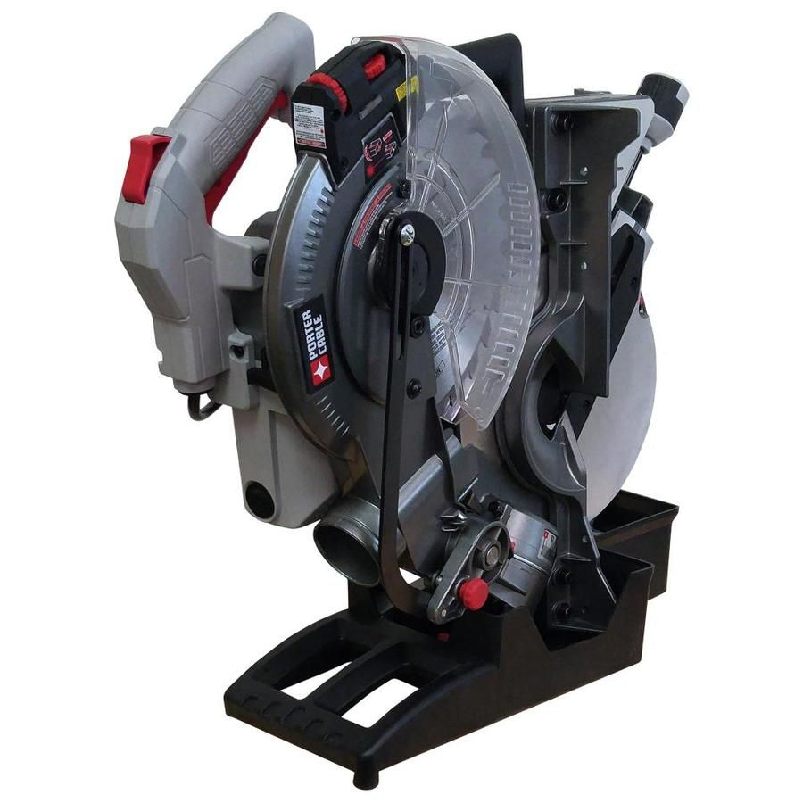 Porter Cable 10 In 15 Amp Single Bevel Laser Folding Compound Miter Saw Lowes Com Best Circular Saw Porter Cable Table Saw