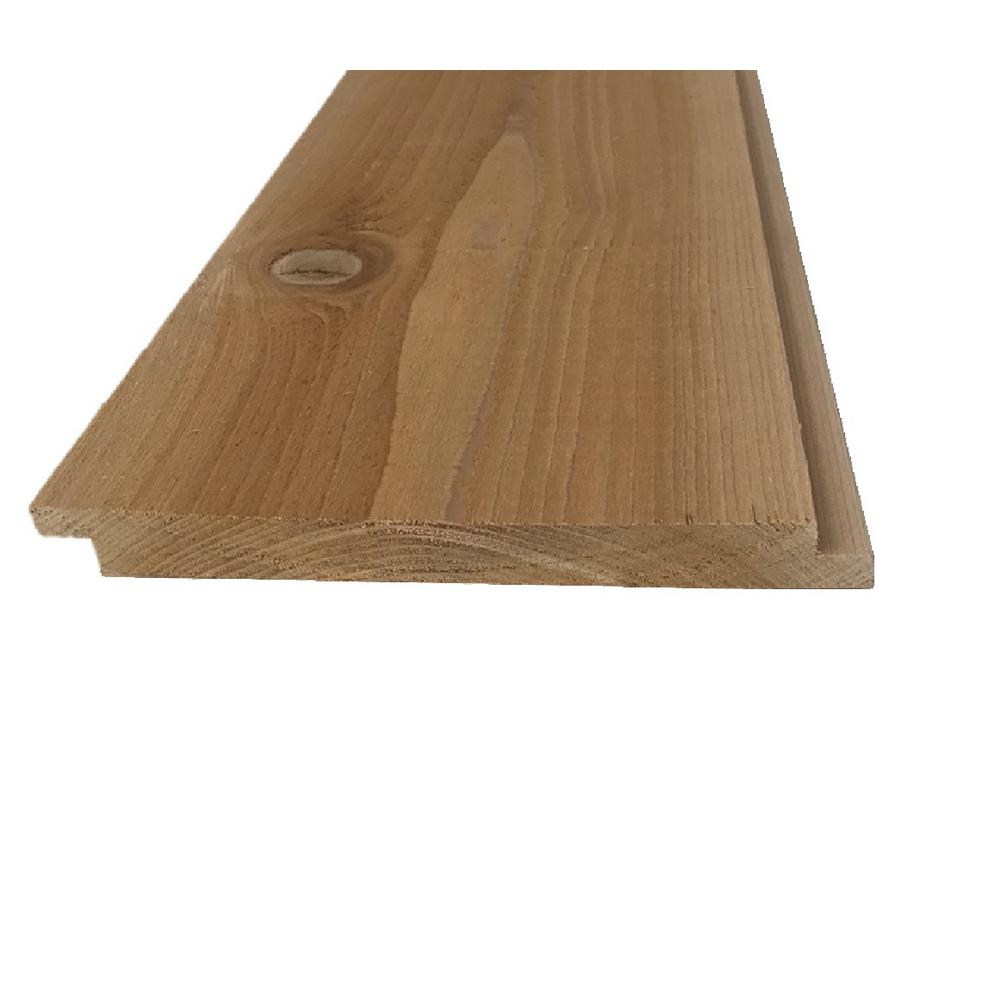 Unbranded Pattern Stock Western Red Cedar Shiplap Board Common 1 In X 8 In X 12 Ft Actual 0 656 In X 7 12 In X 144 In 097523180128 The Home Depot Shiplap Siding Shiplap Cedar Shiplap