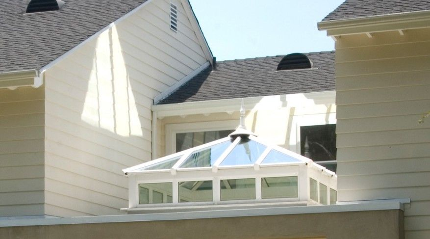 Hipped Square Skylight With Side Frames Skylight Flat Roof Skylights Roof Skylight