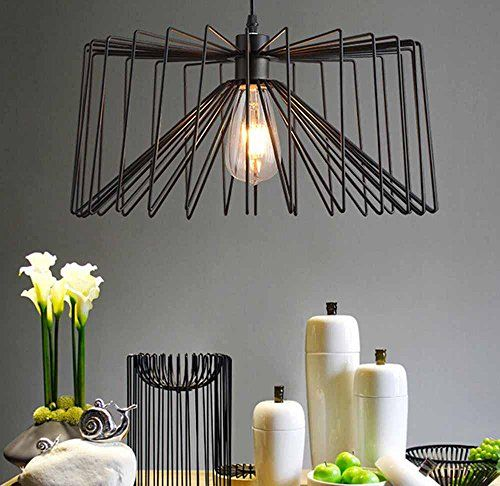 KHSKX Creative Art Spider Pendant Office Lighting Modern Minimalist Living Room Lamp Cafe Bedroom