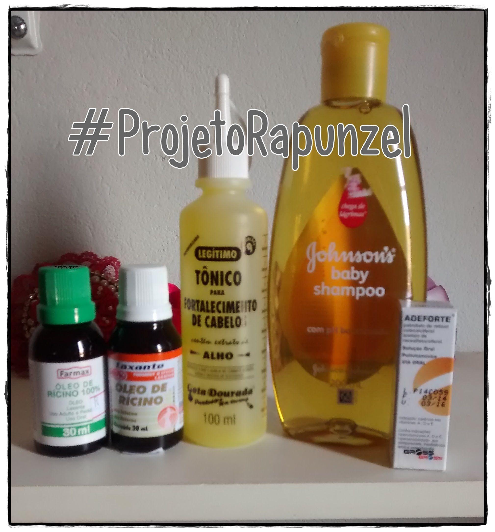 Projetorapunzel Preparando O Shampoo Com Adeforte Shampoo Para