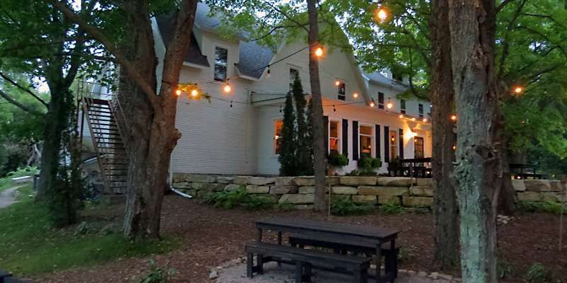 Located In Historic Ellison Bay Wickman House Is One Of Door