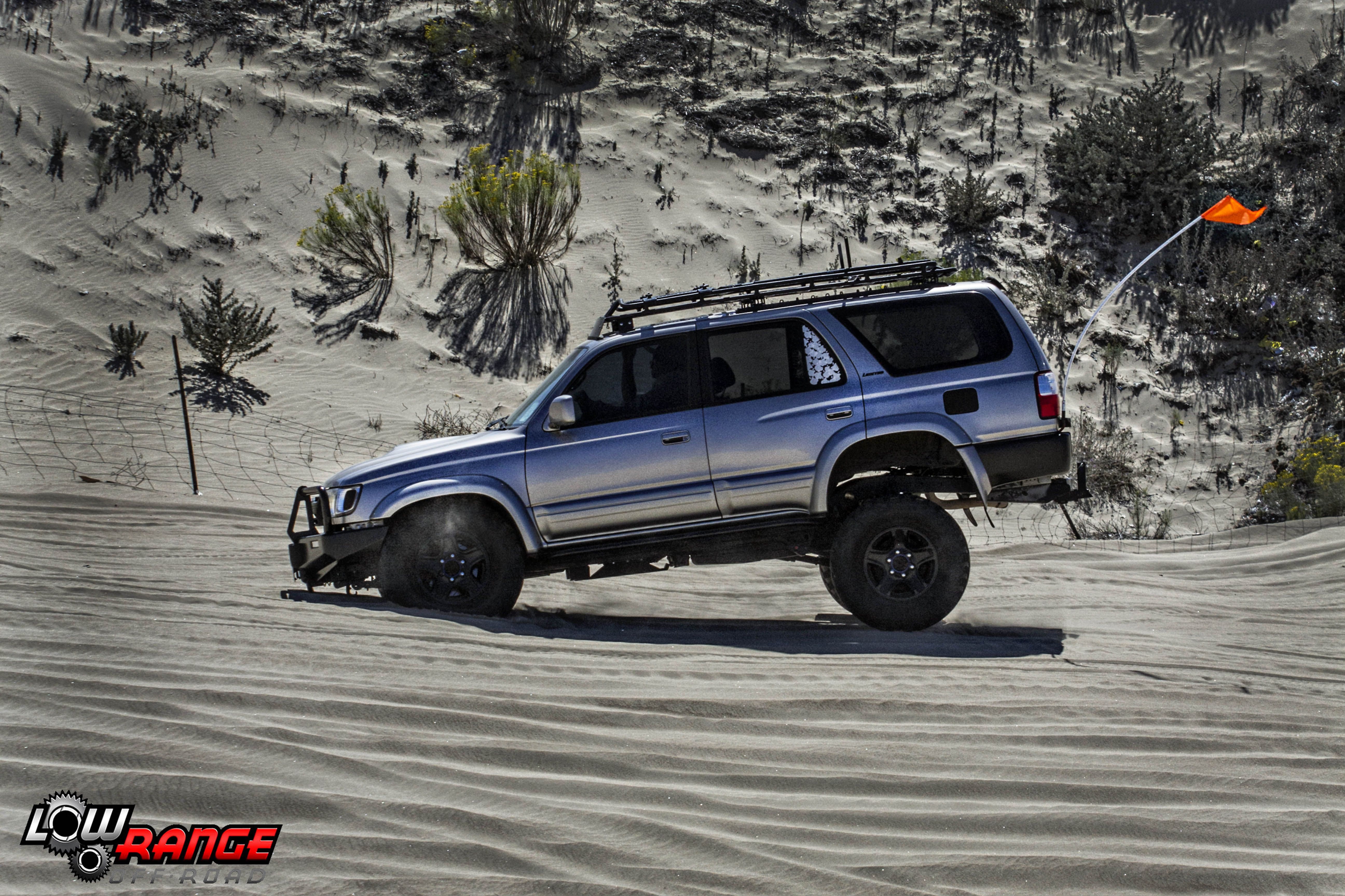 Toyota 4runner Getting A Little Wild In The Sand Dunes Toyota 4runner Lowrangooffroad Pismo Ultimate4x4jamboree 4runner Toyota Off Road Parts