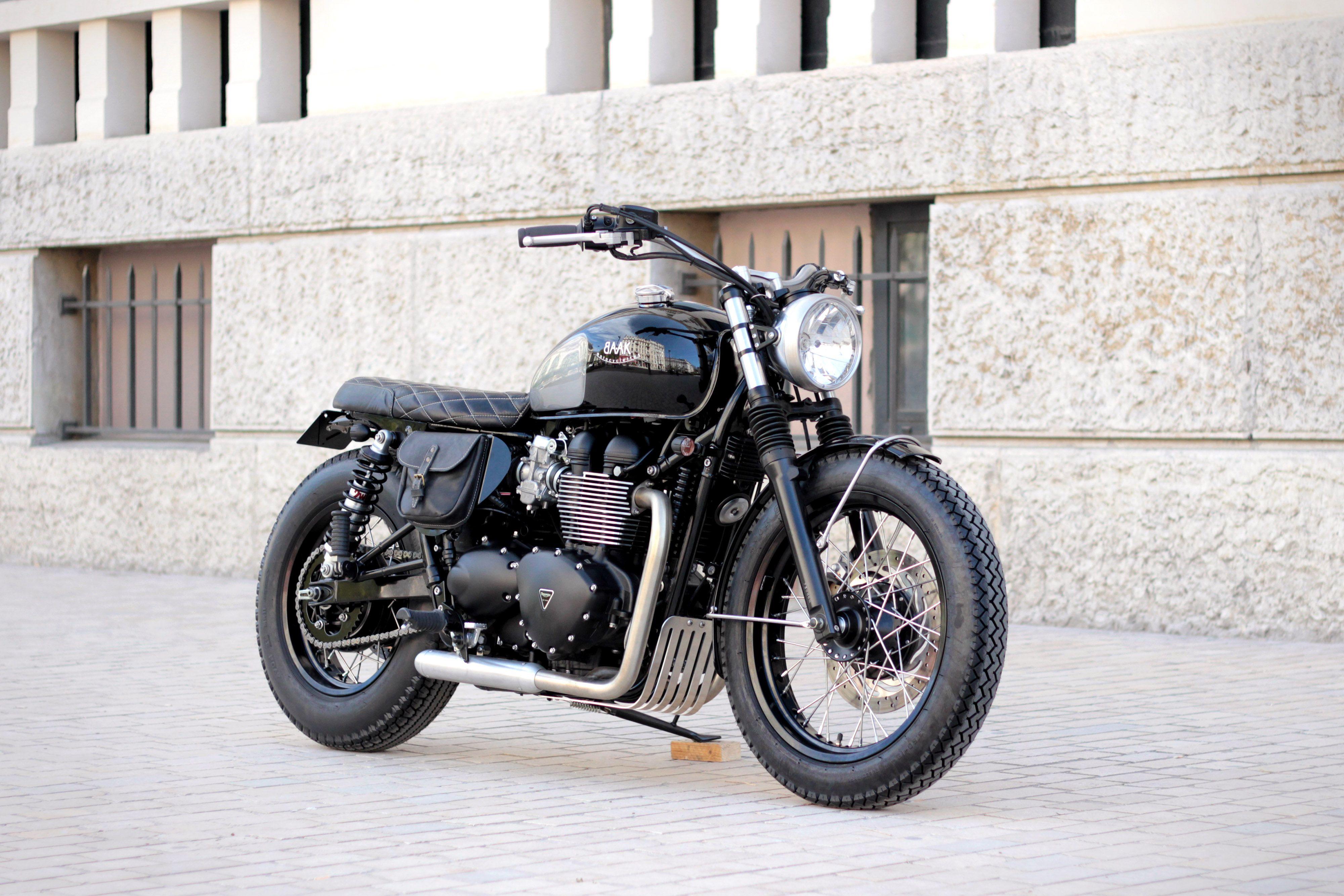 Our classic Triumph Bonneville T100 based build : the Dandy Bonnie.