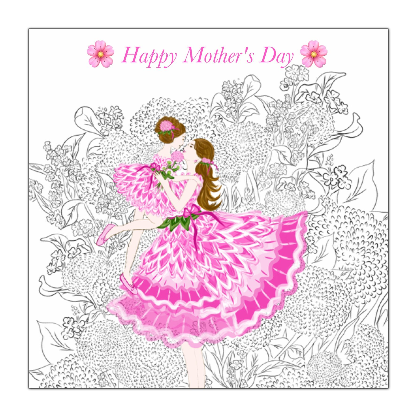 Mother's Day by Aikotopia  #happymothersday #adultcoloring