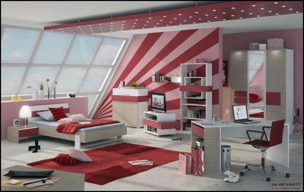25 zimmer design ideen f r m dchen im teenageralter 2014. Black Bedroom Furniture Sets. Home Design Ideas