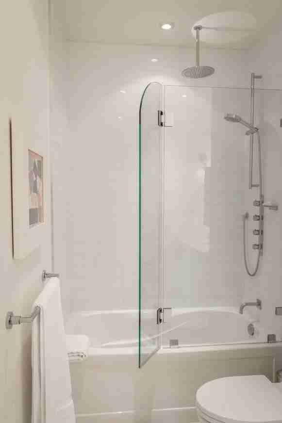 Full Size Of Glass A Sliding Frameless Bathtub Enclosure Shower