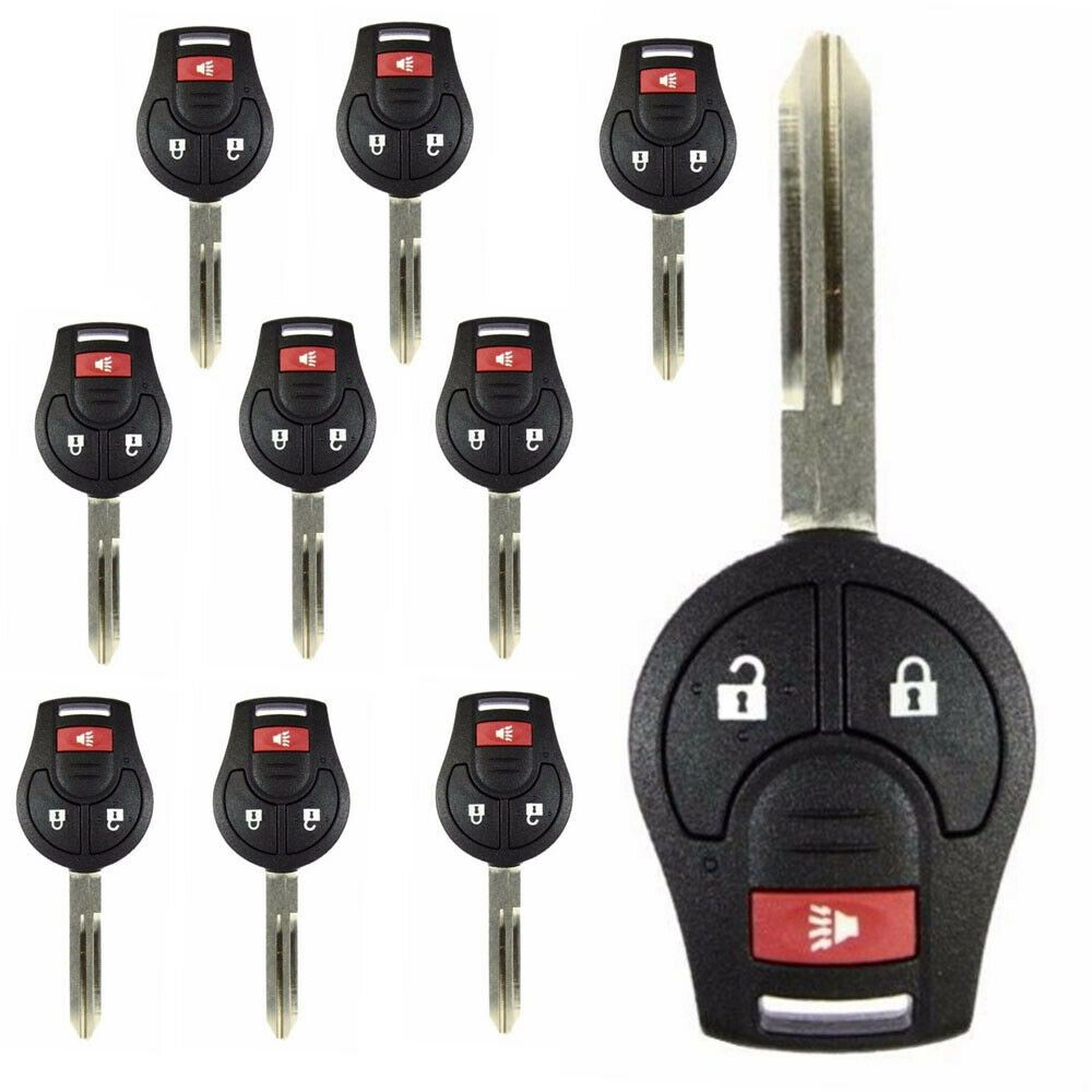 LOT 10 Remote Key Case Shell fit for 082014 Nissan Cube