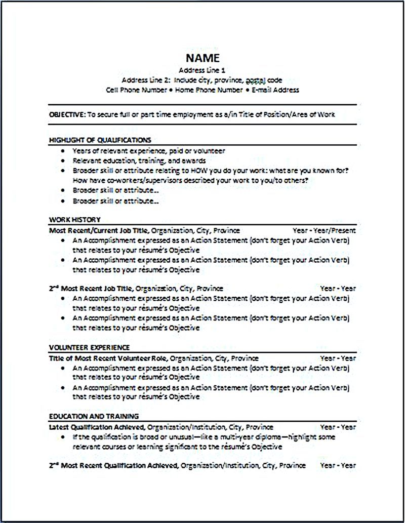 most current resume format latest resume format 2017 resume latest cv template 2017 - Most Current Resume Format