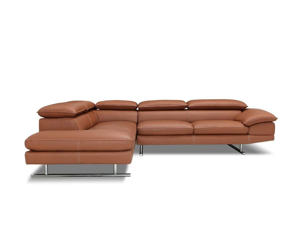 Mauro Leather Left Sectional In 2019 Products Couch Home Decor