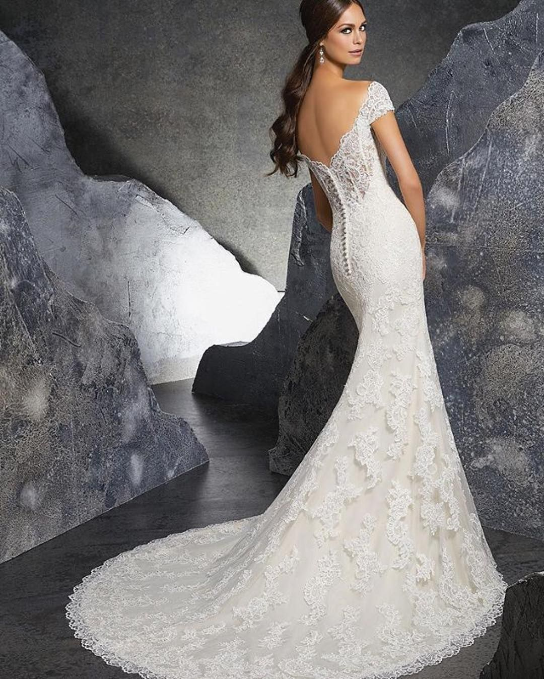 Mori lee madeline gardner wedding dress  Repost morileeofficial Obsessed with this back Kinley style