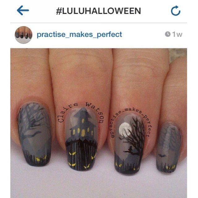 October Nail Art: Pin By Senitta Matthews On Nails