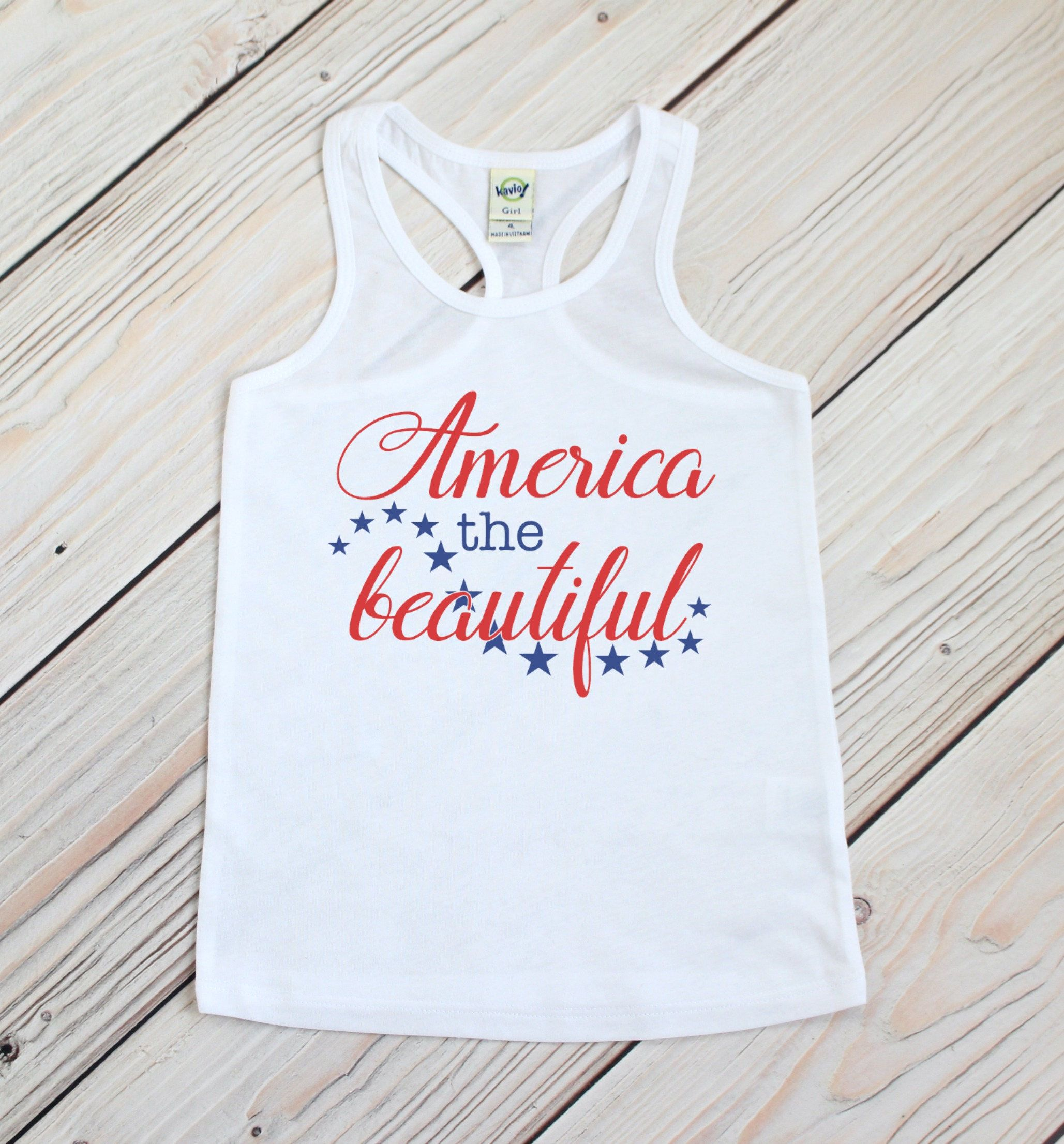 Fourth of July Tank 4th of July Shirt Patriotic Tank America