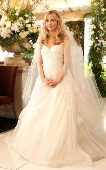 Celebrity Wedding Dresses: TV & Movies | What would, Celebrity ...