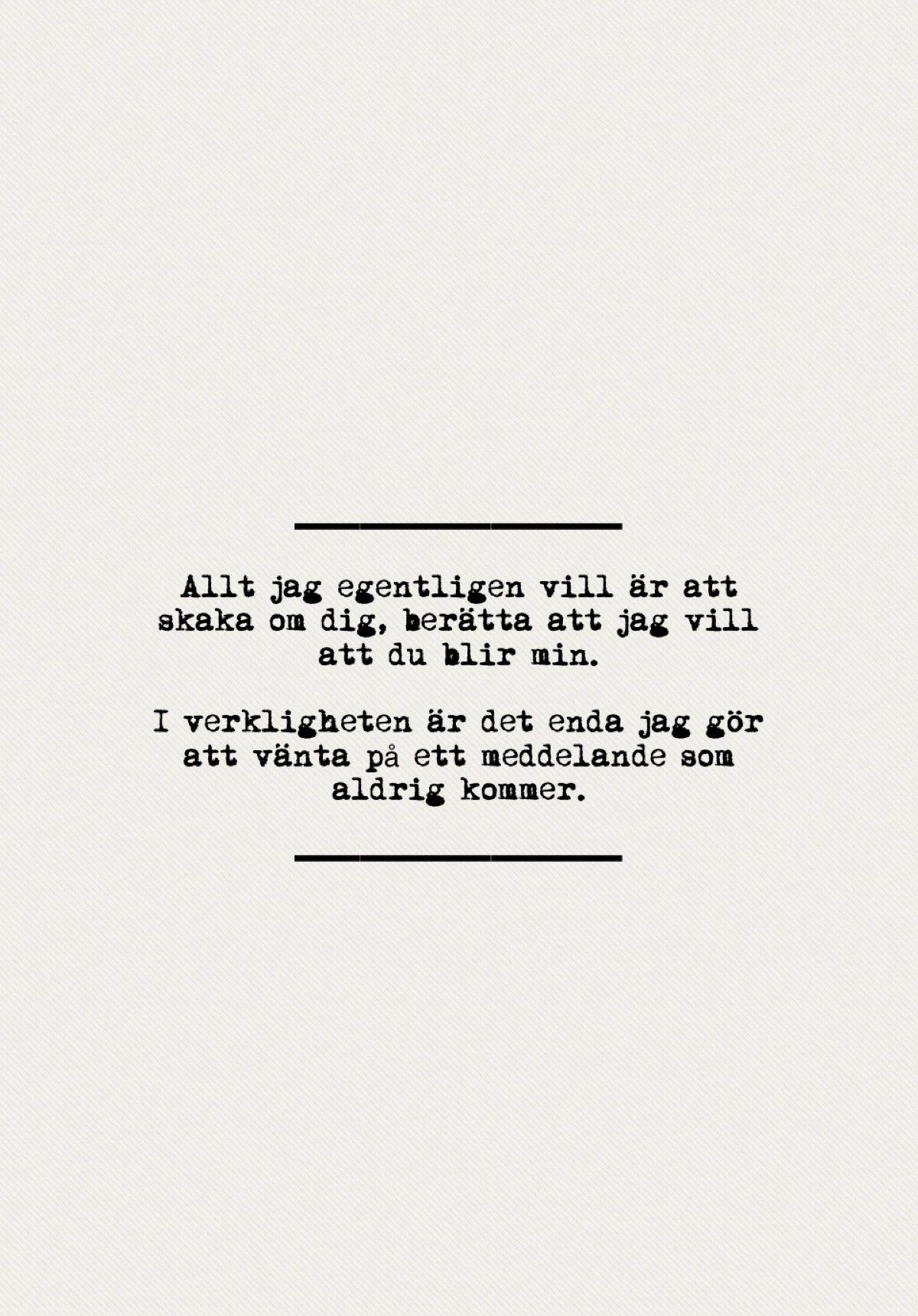 citat om längtan