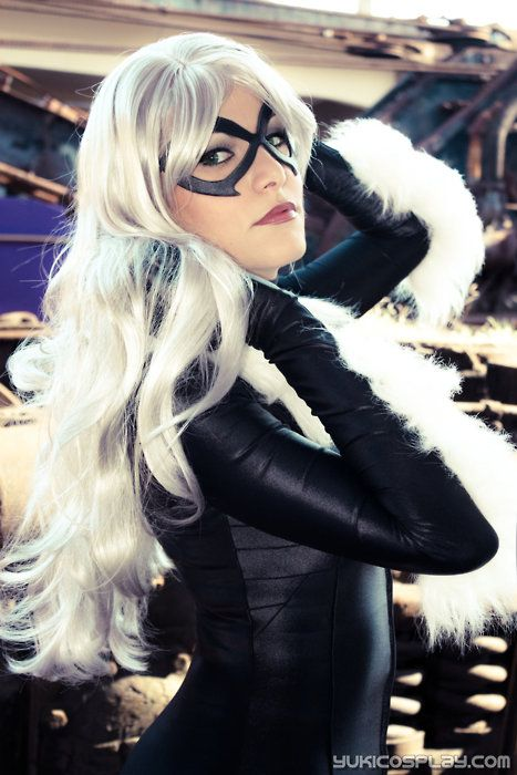 Black Cat - Yukilefay (photo Vingaard) & Black Cat - Yukilefay (photo: Vingaard) | Cosplay - Marvel Comics ...
