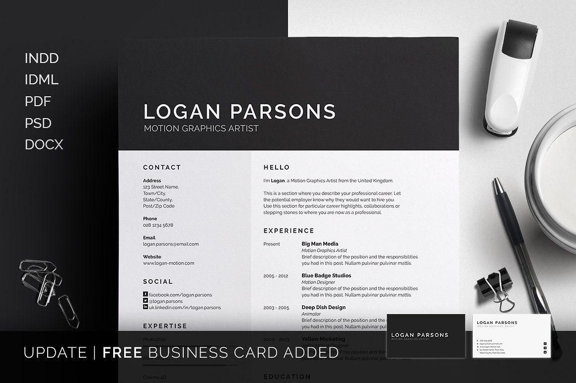 Resume CV Logan
